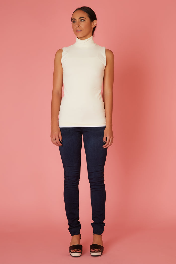 Seamless Turtleneck Tank - Love Leeann