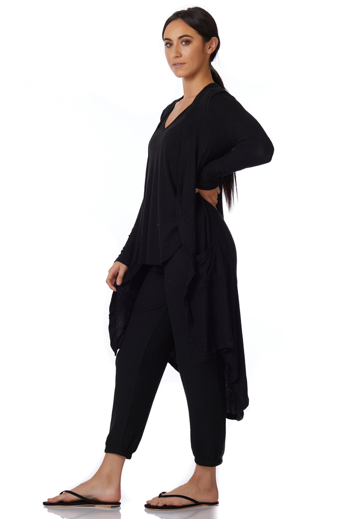 Sen Long Duster with Pockets - Love Leeann