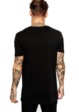 Holland black half sleeve T-shirt