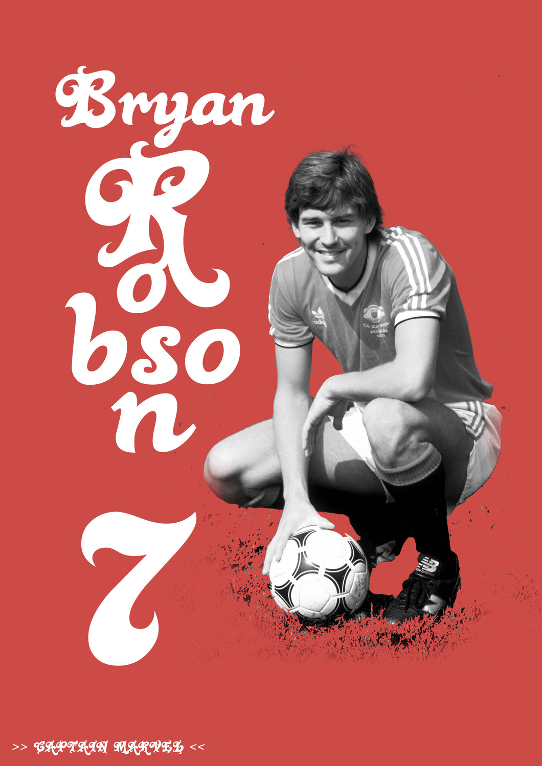 Bryan Robson Poster