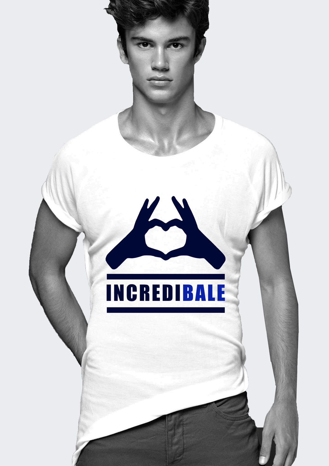 Real Madrid Gareth Bale T- shirt