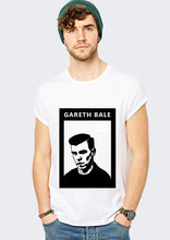 Real Madrid Gareth Bale White T- shirt Front