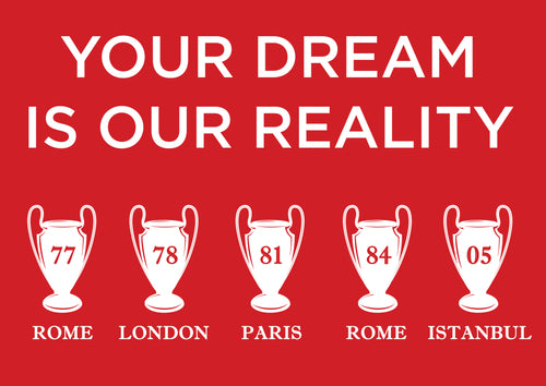 Liverpool Dream Poster