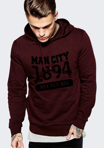 Manchester City Basic Hoodies
