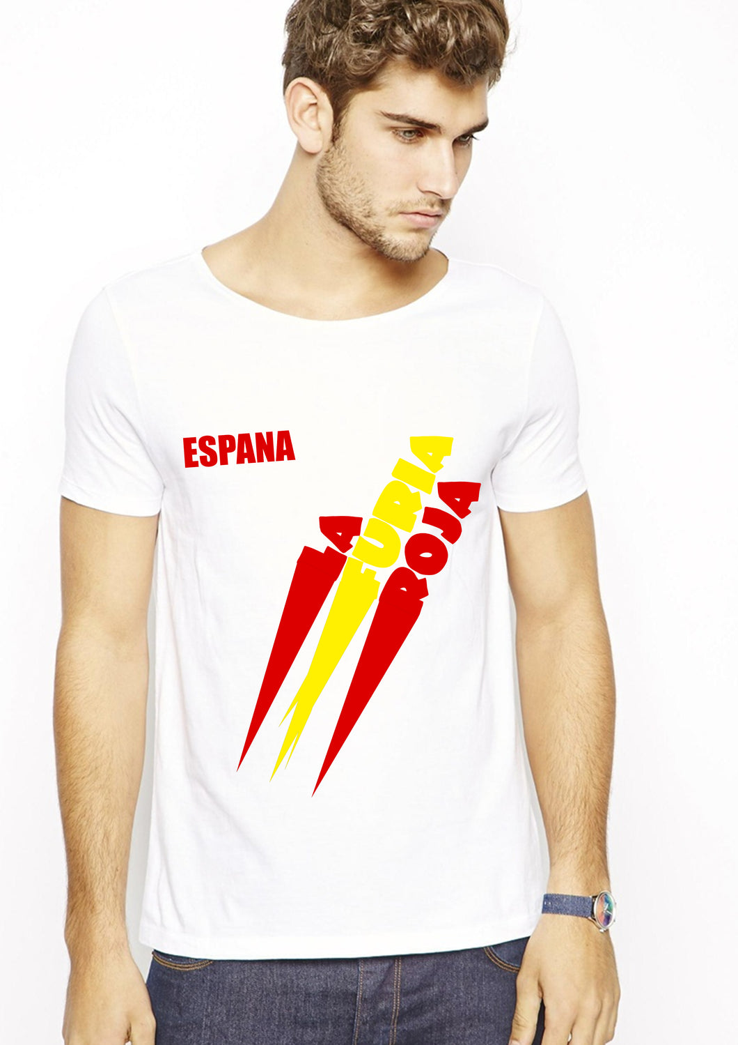 La Roja white T-shirt