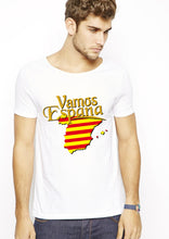 Espana white half sleeve T-shirt