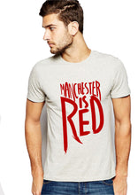 manchester is red t-shirt