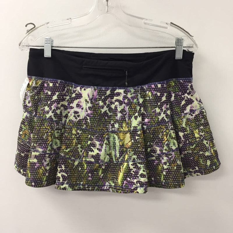 LULULEMON WOMEN'S ACTIVE BOTTOM black/purple/yellow/other 10