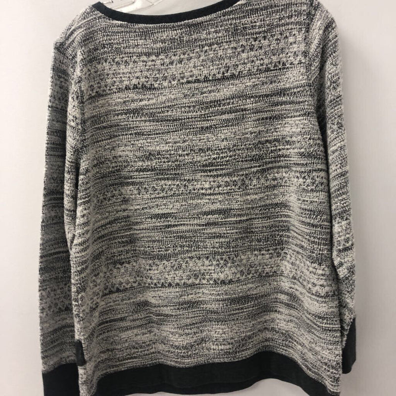 NR/Northern Reflections WOMEN'S SWEATER grey/white XL
