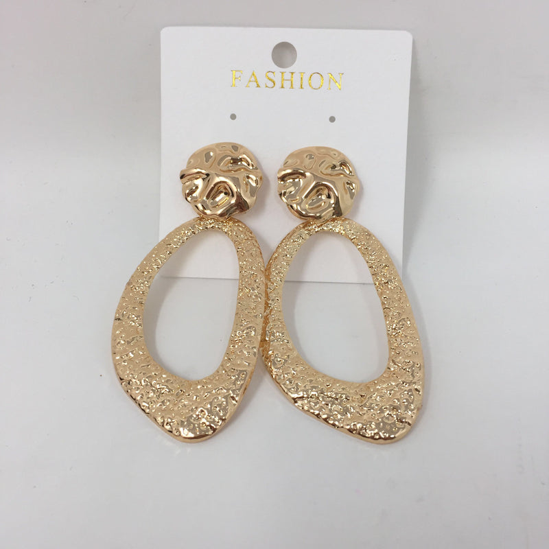 Earrings Gold Drop
