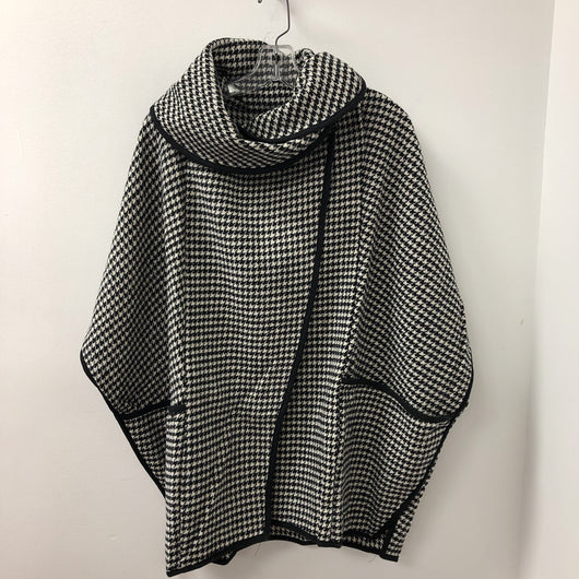 Cape Houndstooth Black White