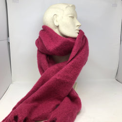 Scarf Soft Oversized Fuschia