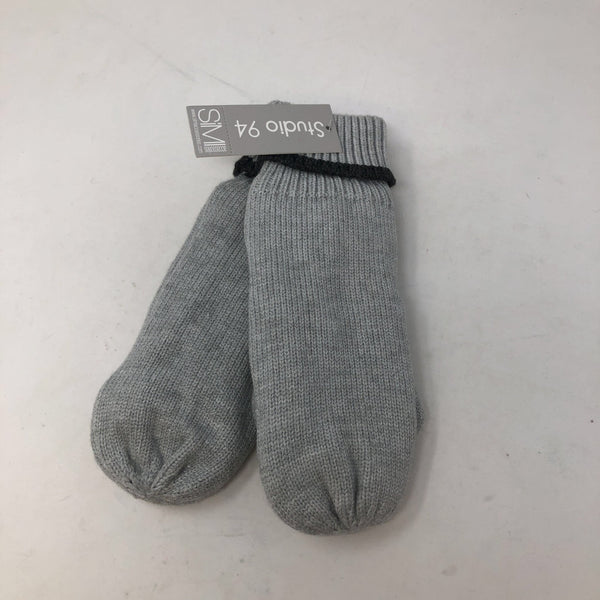 Mittens - Light Grey Lined