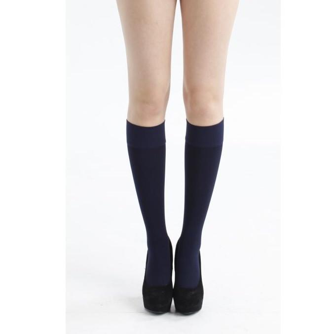 Andrea Bucci 90 Denier Super Warm Opaque Knee Highs - Leggsbeautiful