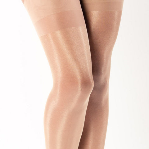 Pamela Mann Plus Size 20 Denier Charleston Stockings - Leggsbeautiful