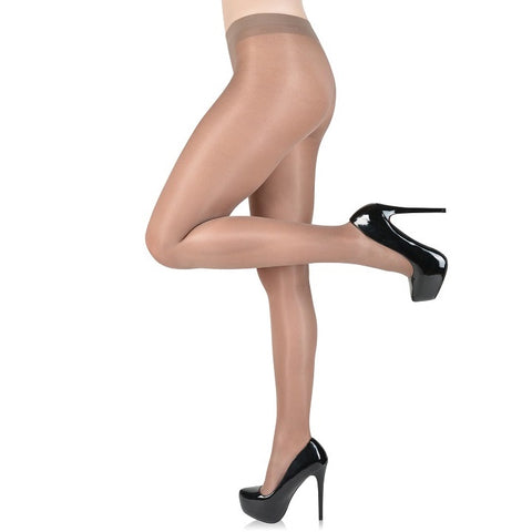 Fiore Idalia 20 Denier Gloss Tights - Leggsbeautiful