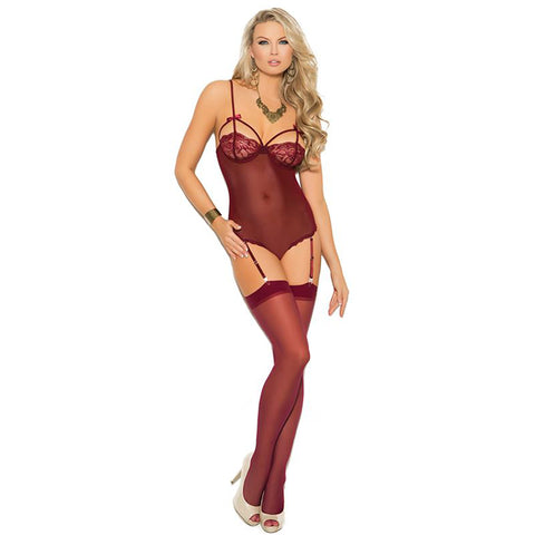 Elegant Moments Sheer Coloured Stockings - Leggsbeautiful