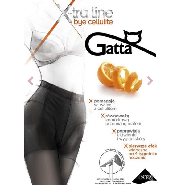 Gatta Bye 20 Denier Sheer Anti Cellulite Shaping Tights - Leggsbeautiful