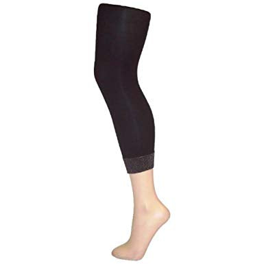 Pamela Mann Lurex Cuff Footless Tights