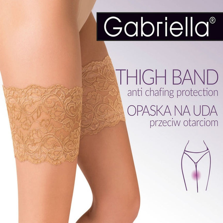 Gabriella Lace Anti Chafing Thigh Bands