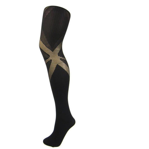 Leggsbeautiful 70 Denier Opaque Union Jack Tights - Leggsbeautiful
