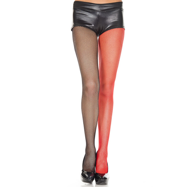 Music Legs Fishnet Jester Tights - Leggsbeautiful