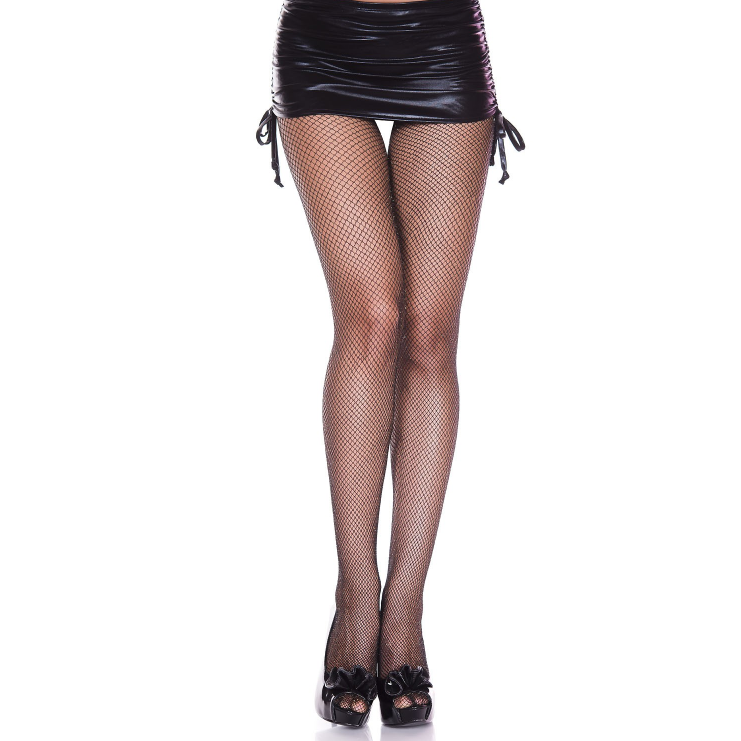 Music Legs Lurex Glitter Fishnet Tights