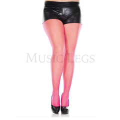 Music Legs Plus Size Seamless Classic Fishnet Tights