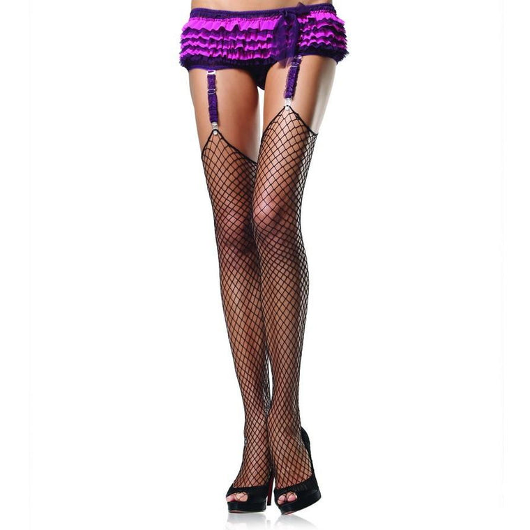 Leg Avenue Lycra Industrial Net Stockings