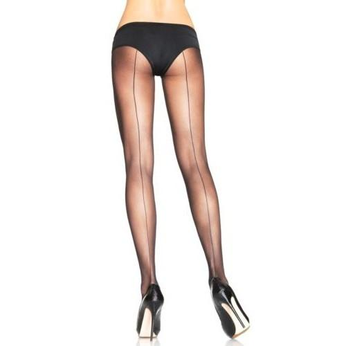 Leg Avenue Backseam Tights Plus Size