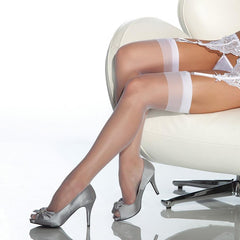 Coquette Sheer Thigh High Stockings - Leggsbeautiful