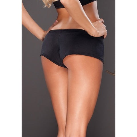 Coquette Plus Size Briefs With Diamante Detailing - Leggsbeautiful