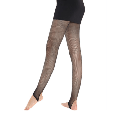 Leggsbeautiful Stirrup Fishnet Tights - Leggsbeautiful