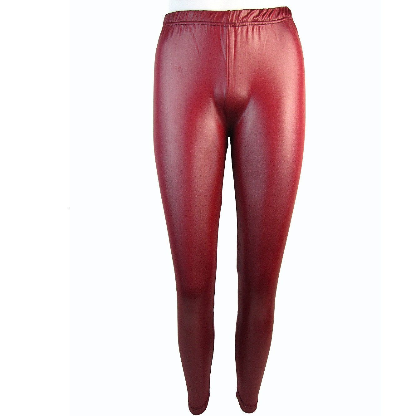 Flirt Wet Look Shiny Leggings - Leggsbeautiful