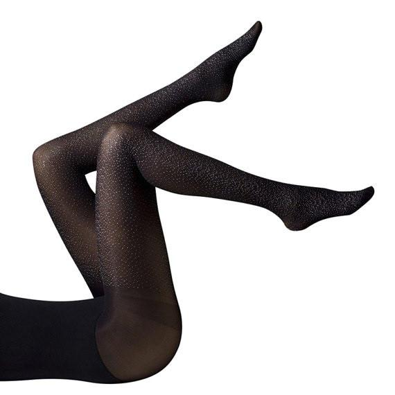 Gipsy Sparkle Stud Opaque Tights - Leggsbeautiful