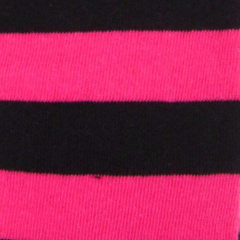 Soft Knit Cotton Blend Wide Stripe Over The Knee Socks - Leggsbeautiful