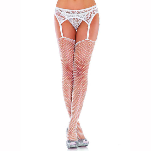 Leg Avenue Lycra Industrial Net Stockings - Leggsbeautiful