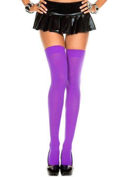 Leg Avenue Opaque Thigh Highs - Leggsbeautiful