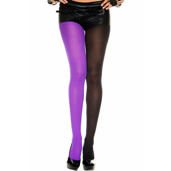 Music Legs Opaque Jester Tights