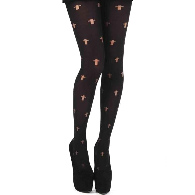 Pamela Mann 70 Denier Reverse Cross Opaque Tights
