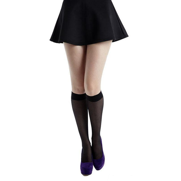 Pamela Mann Beehive Knee High Socks - Leggsbeautiful