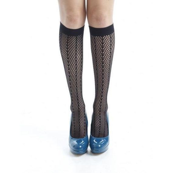 Pamela Mann Herringbone Knee High Socks - Leggsbeautiful