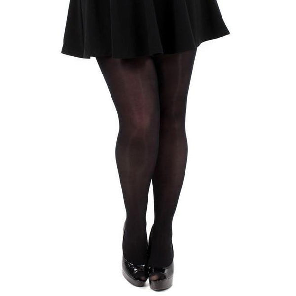 Pamela Mann  Plus Size 80 Denier Opaque Tights - Leggsbeautiful