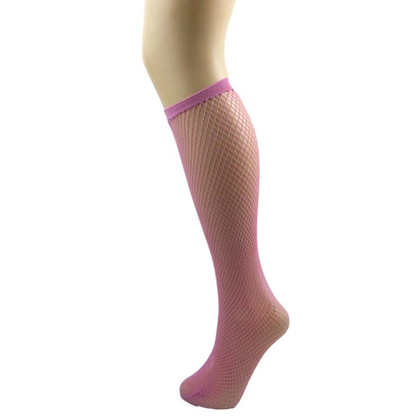Pamela Mann fishnet Knee High Socks - Leggsbeautiful