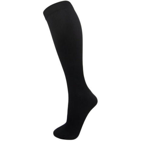 Pretty Legs Fine Ribbed Compression Socks