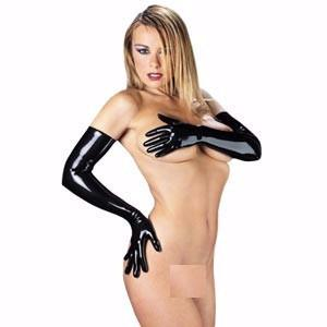 Rubber Secrets Long Gloves - Leggsbeautiful