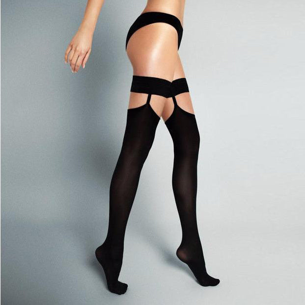 Veneziana 60 Denier Opaque Hold Ups With Separate Garter