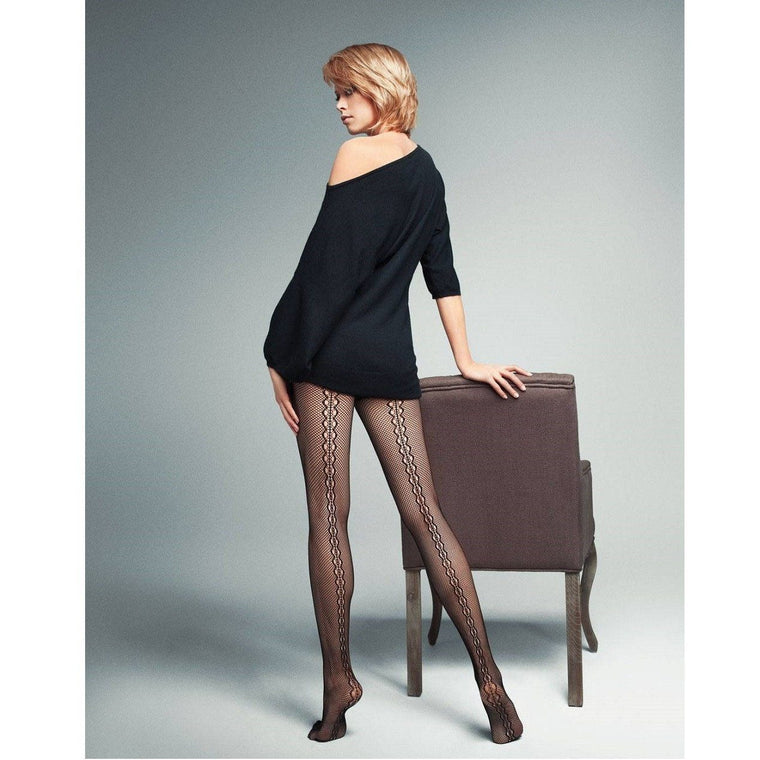 Veneziana Detail Backseam Tights