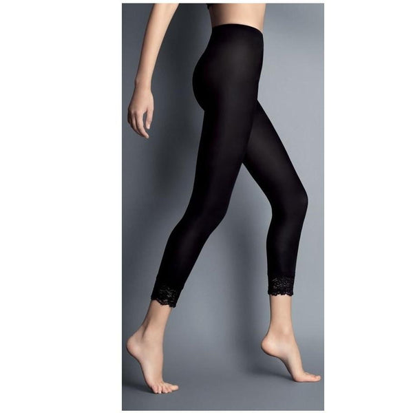 ae3f8fe2070 Tights with lace trim