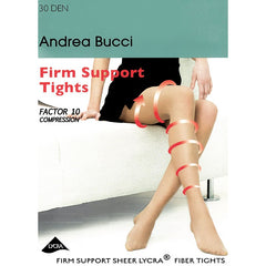 Andrea Bucci 30 Denier Firm Support Factor 10 Support Tights - Leggsbeautiful